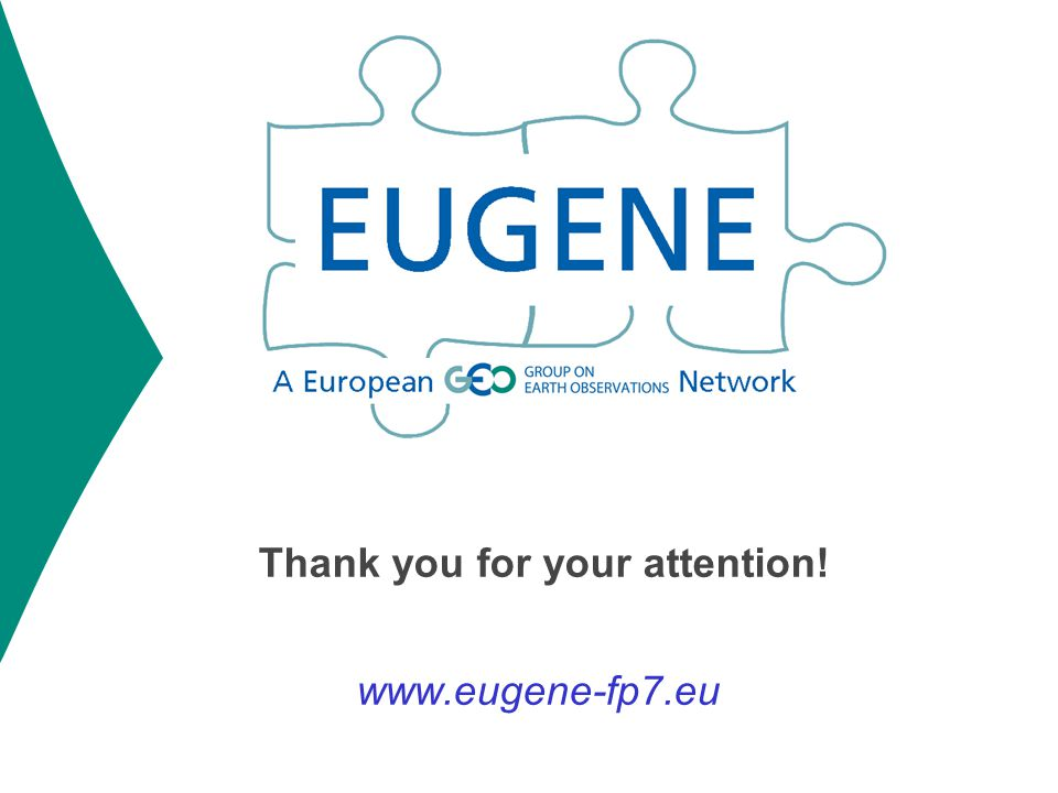 Thank you for your attention! www.eugene-fp7.eu