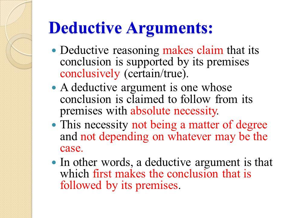 Example: Premise Socrates is mortal.