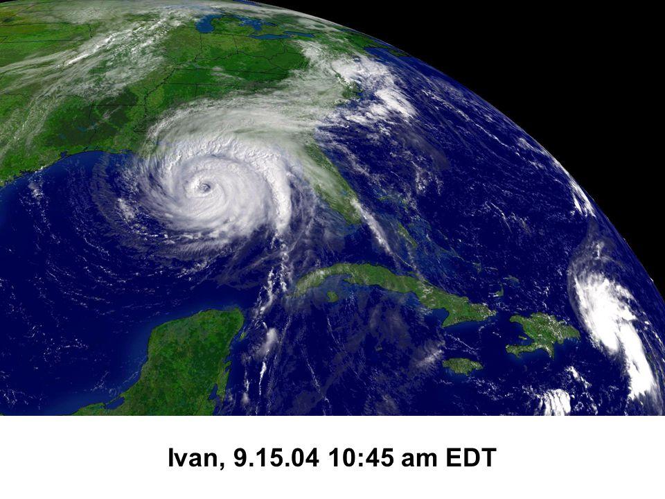 Ivan, 9.15.04 10:45 am EDT