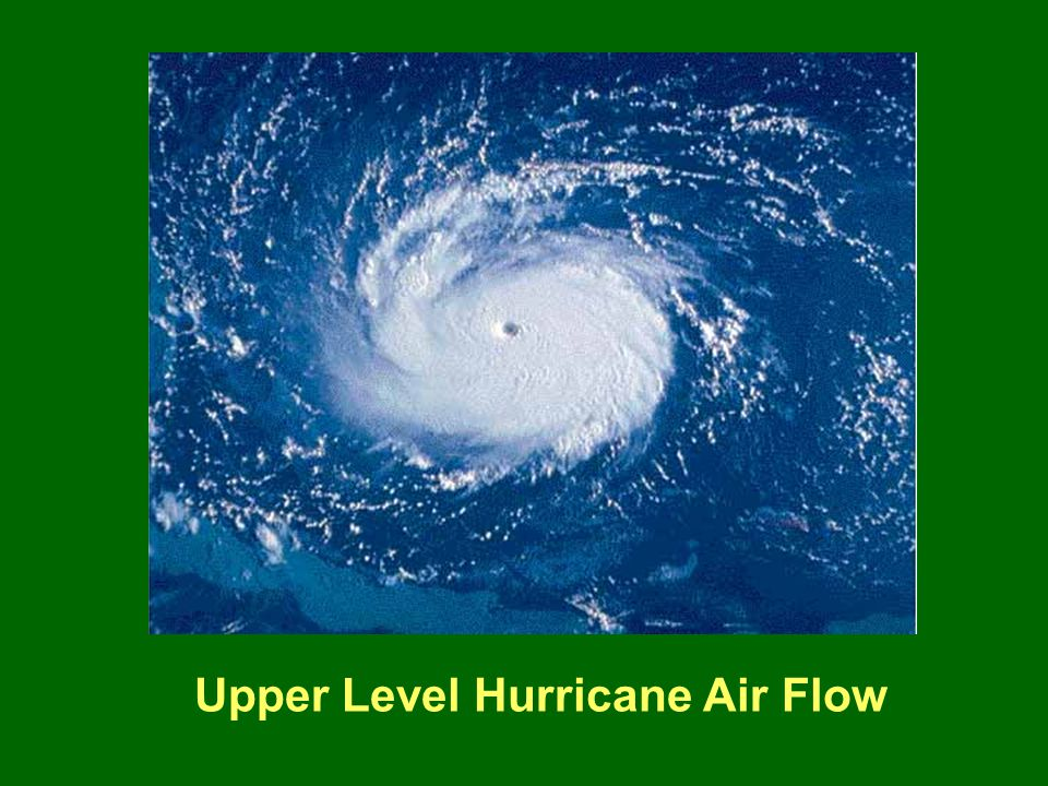 Upper Level Hurricane Air Flow
