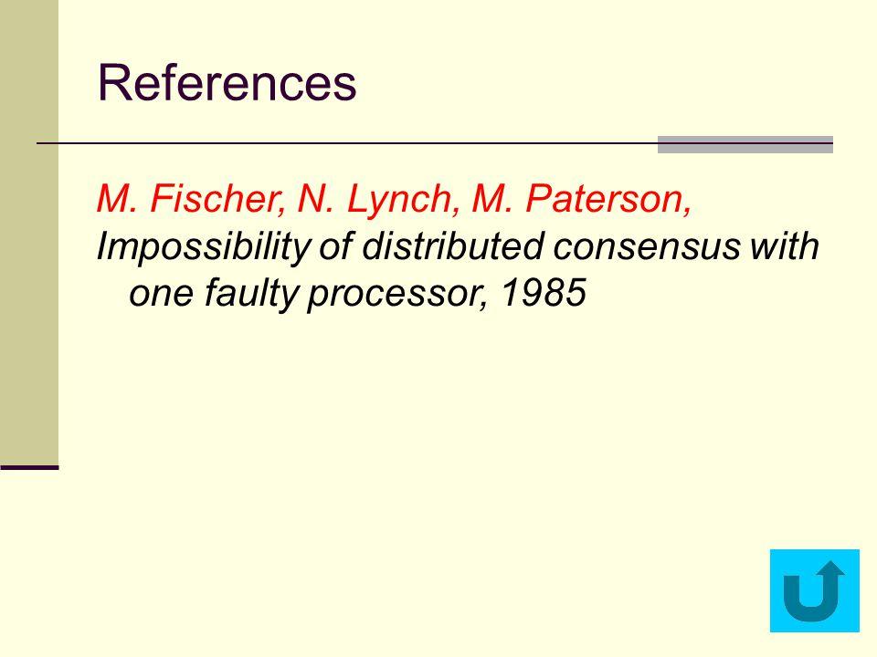 References M.Fischer, N. Lynch, M.
