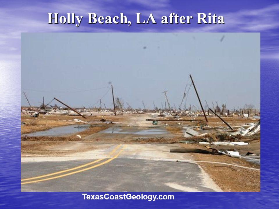 Holly Beach, LA after Rita TexasCoastGeology.com