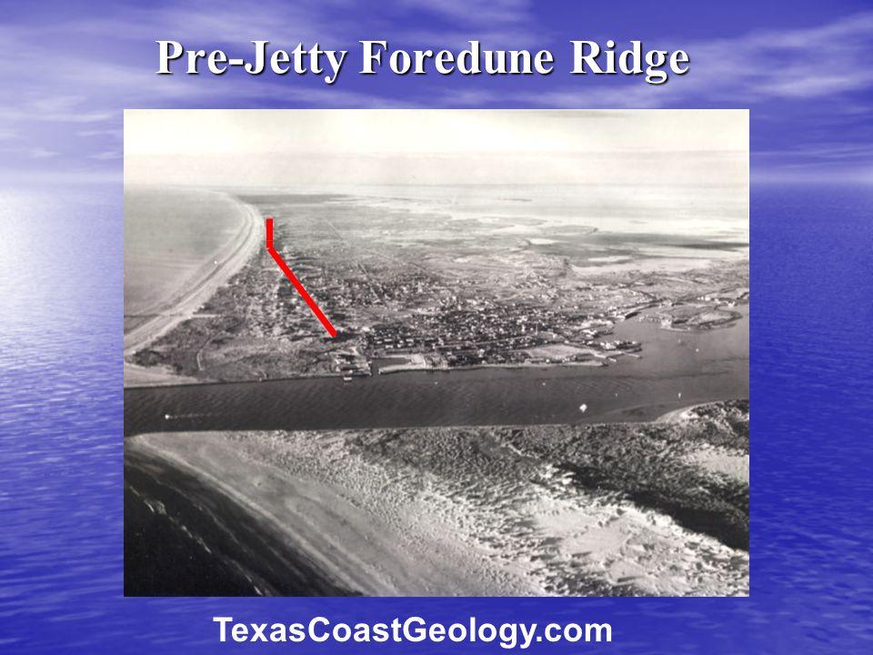Pre-Jetty Foredune Ridge TexasCoastGeology.com