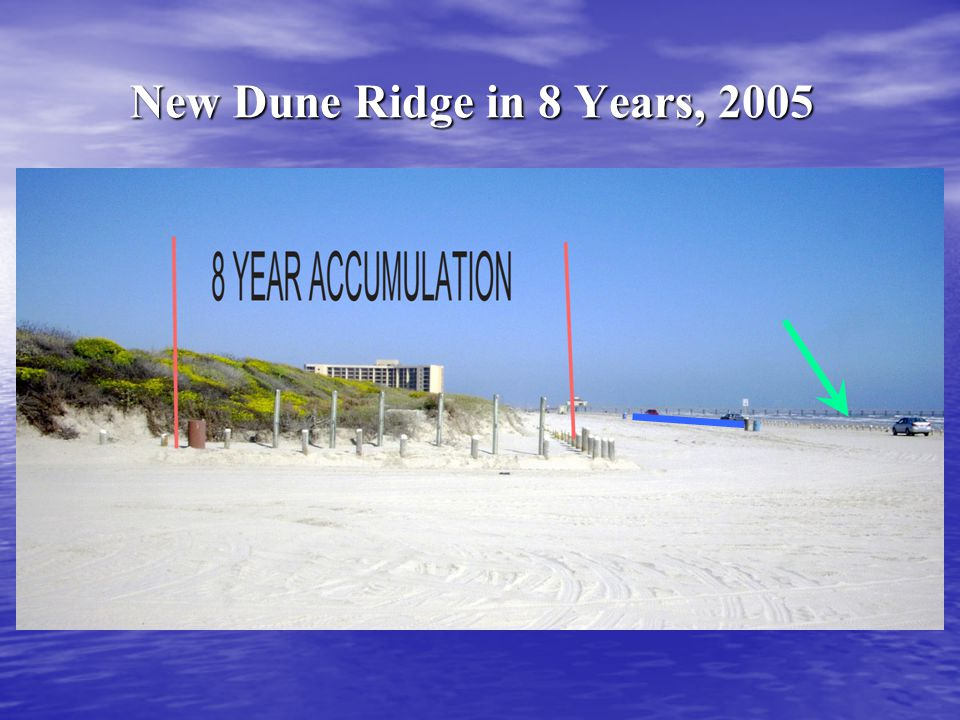 New Dune Ridge in 8 Years, 2005