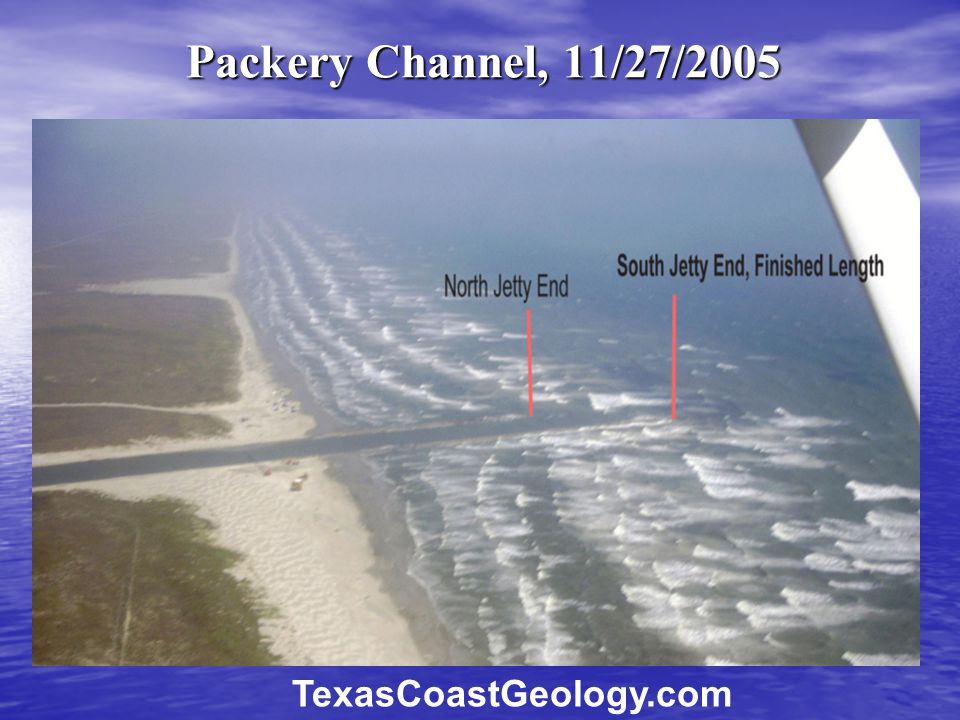 Packery Channel, 11/27/2005 TexasCoastGeology.com