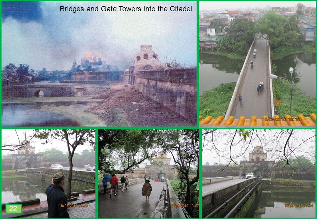 THIS SLIDE AND PRESENTATION WAS PREPARED BY DAVE SABBEN WHO RETAINS COPYRIGHT © ON CREATIVE CONTENT Bridges and Gate Towers into the Citadel 22
