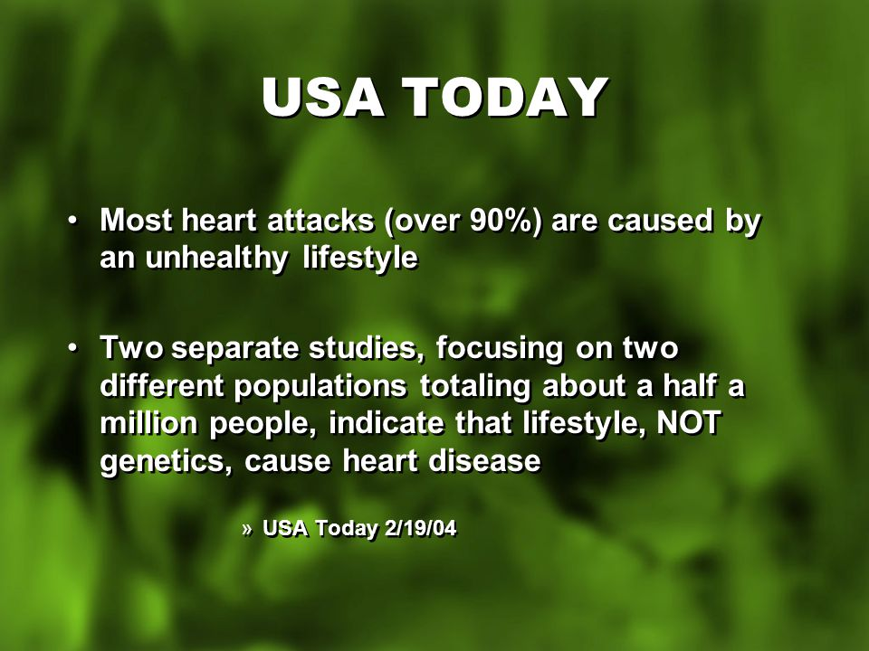 AMERICAN HEART ASSOCIATION Over 50% of the American population have a cholesterol problem Over 70% don't know that they have a problem For many the first evidence of a problem is death Over 50% of the American population have a cholesterol problem Over 70% don't know that they have a problem For many the first evidence of a problem is death