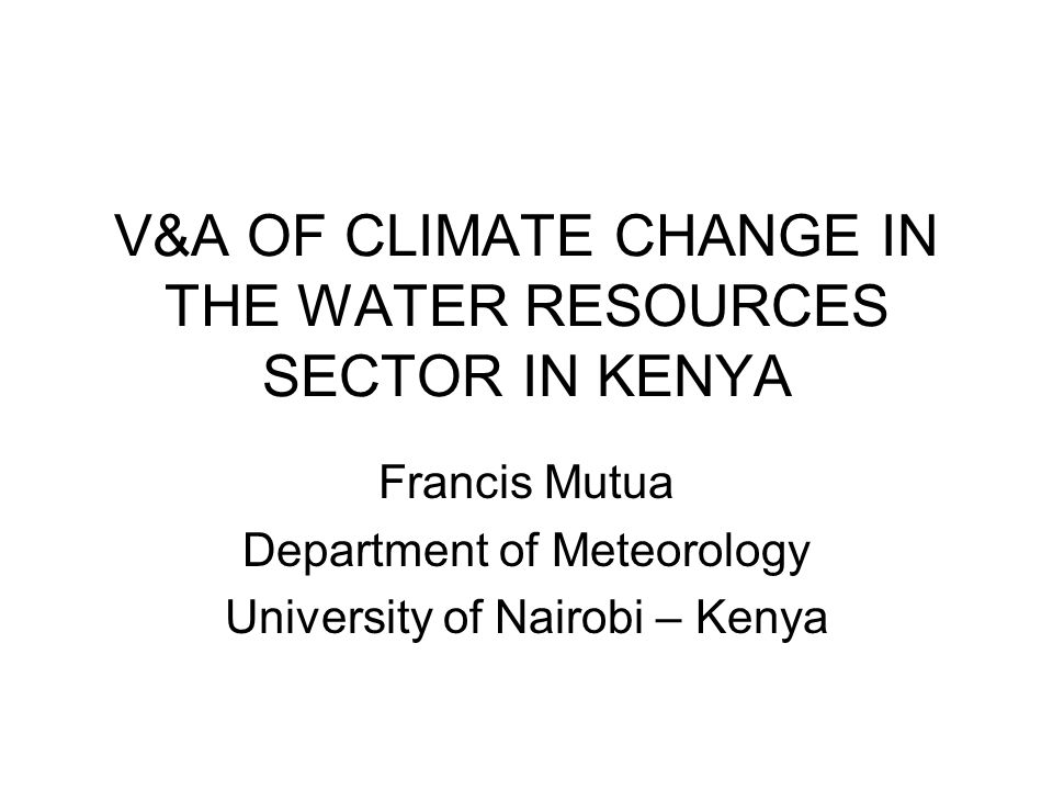 VULNERABILITY IN WATER RESOURCES DUE TO CLIMATE CHANGE The physical factors –Existence of a highly variable hydrological and climatic regime that is marginal for agricultural and livestock developments; –Episodic precipitation patterns which promote high rates of sedimentation and siltation; –Topography and soil patterns that promote soil erosion; –Lack of variety in climatic conditions across the region which weaken the options for relocation in strategies which are intended to reduce the drought risk.