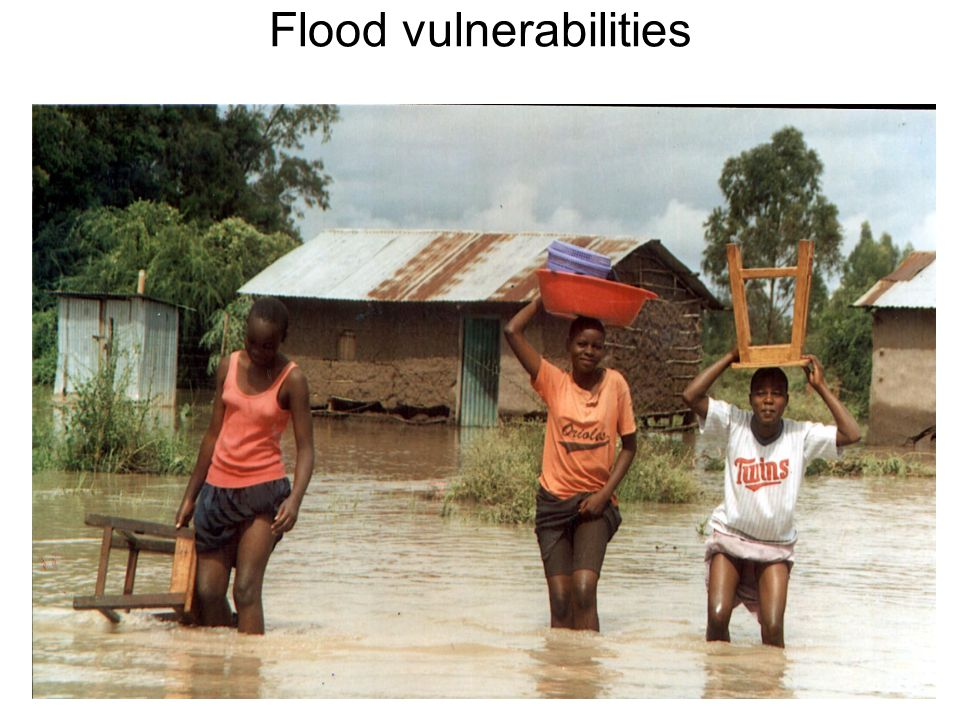 Flood vulnerabilities