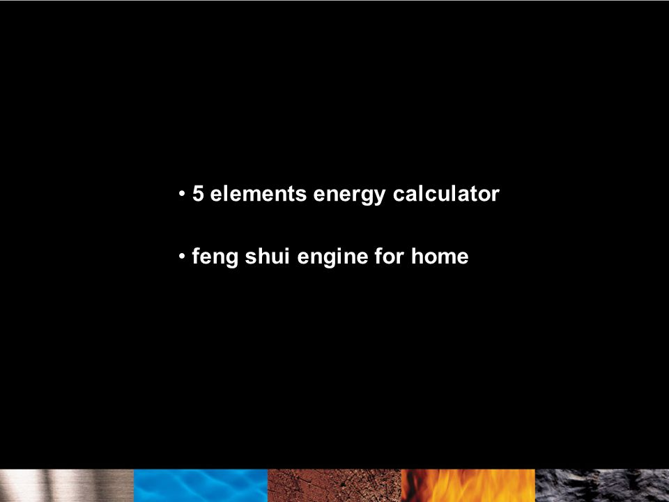 5 elements energy calculator feng shui engine for home