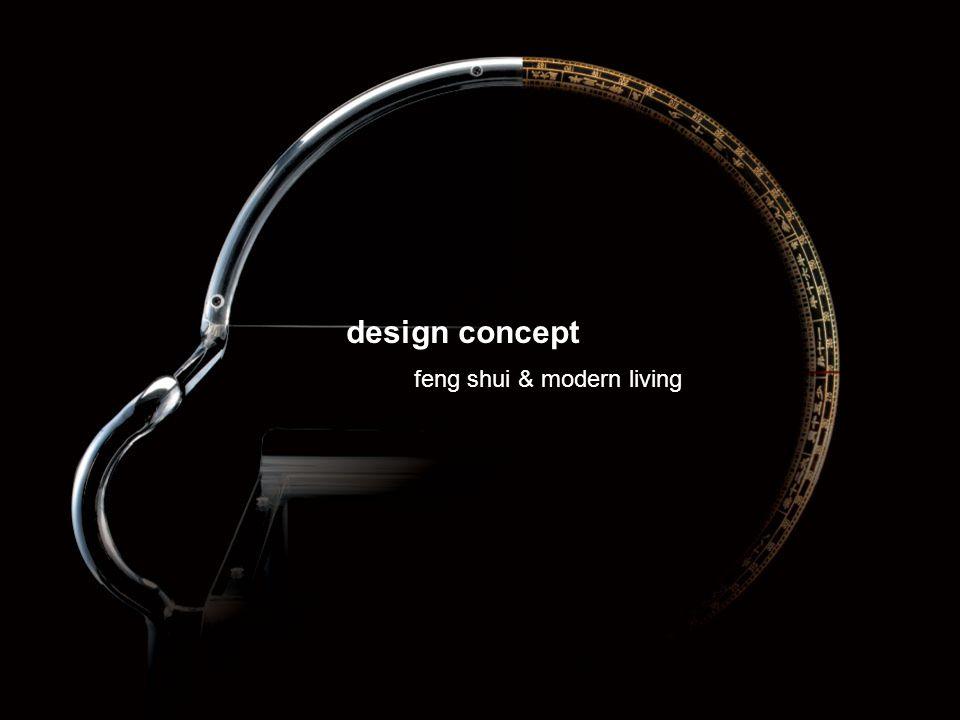 design concept feng shui & modern living
