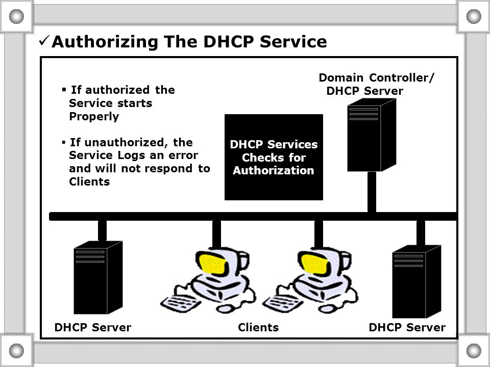 Installing the DHCP Service