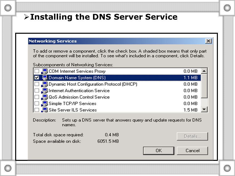  Overview Of the DNS Query Process Query Types Iterative Query Recursive Query The DNS Server return the Best answer That it can Provide With out hel