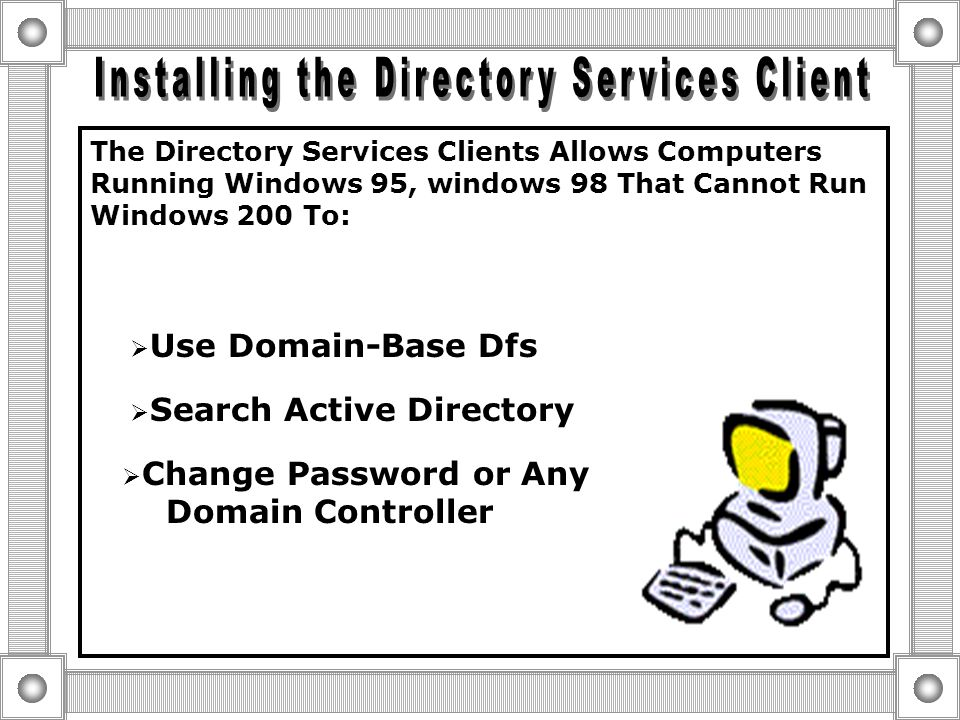 Windows NT Workstation 3.51 or 4.0 Windows 2000 Professional  Same Registry  Same Application Support  Same Device Support  Easiest Upgrade to Win