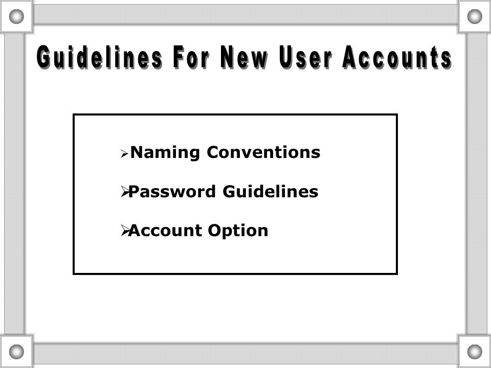 Local User Account  Enable User to log on And Access Resources on a Specific  Reside in Sam Domain User Accounts  Enable Users To Perform Administr