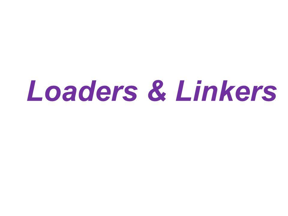 Loaders & Linkers