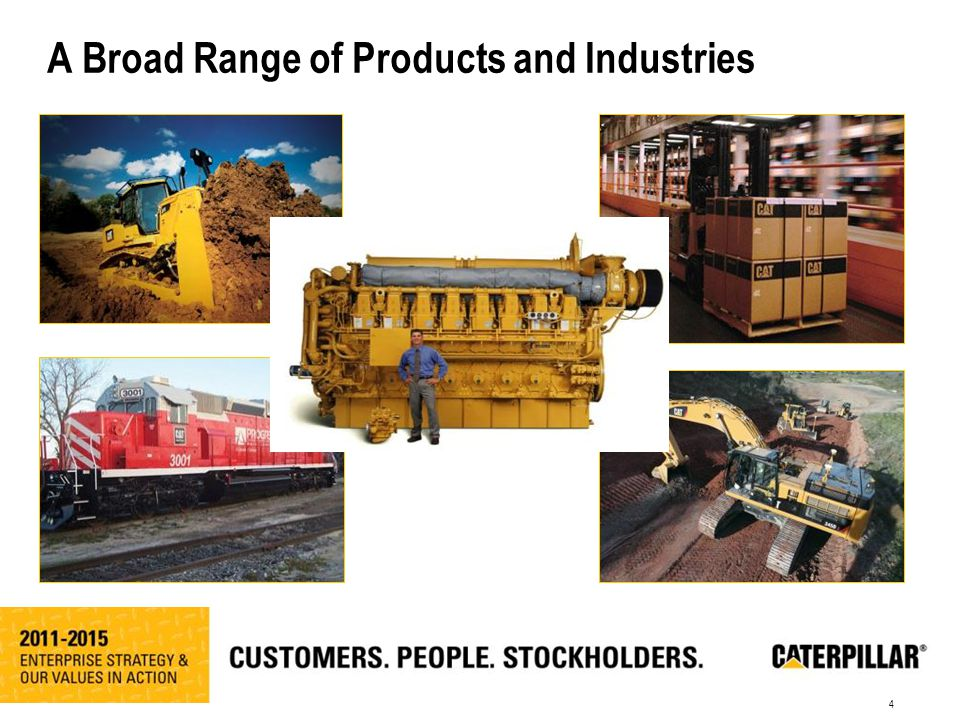 4 A Broad Range of Products and Industries