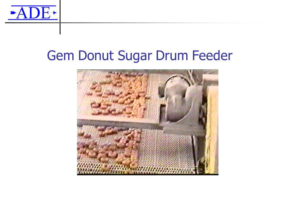 Gem Donut Sugar Drum Feeder