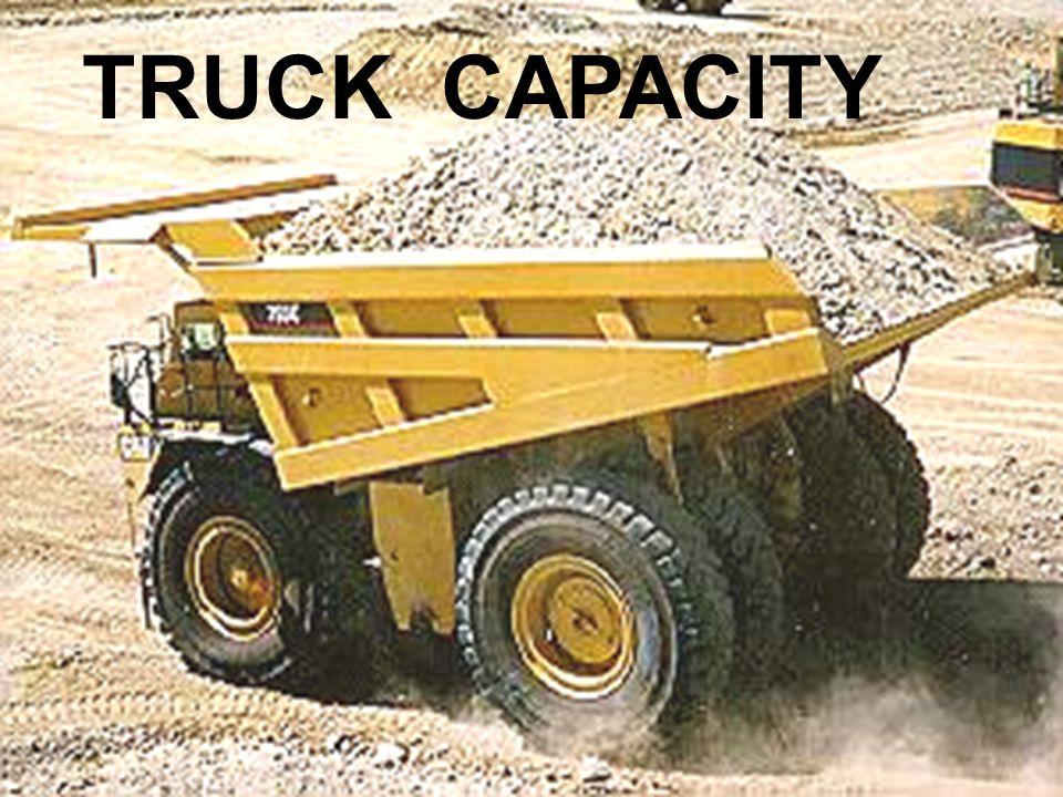 TRUCK CAPACITY