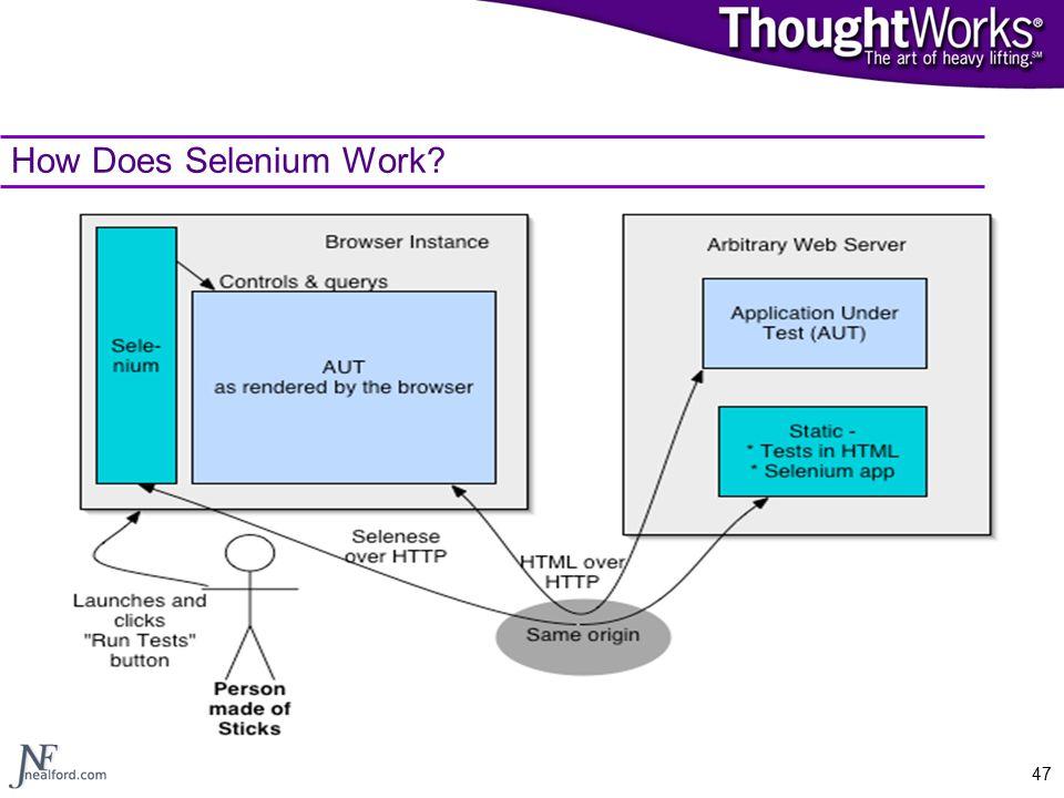 47 How Does Selenium Work