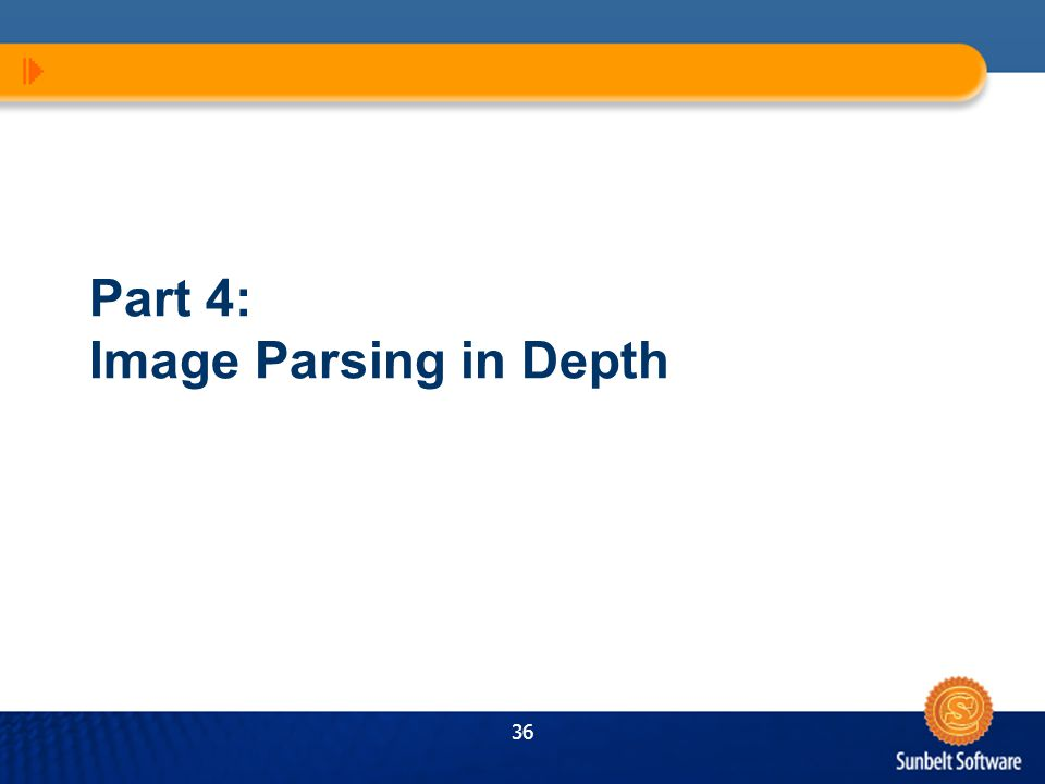 36 Part 4: Image Parsing in Depth