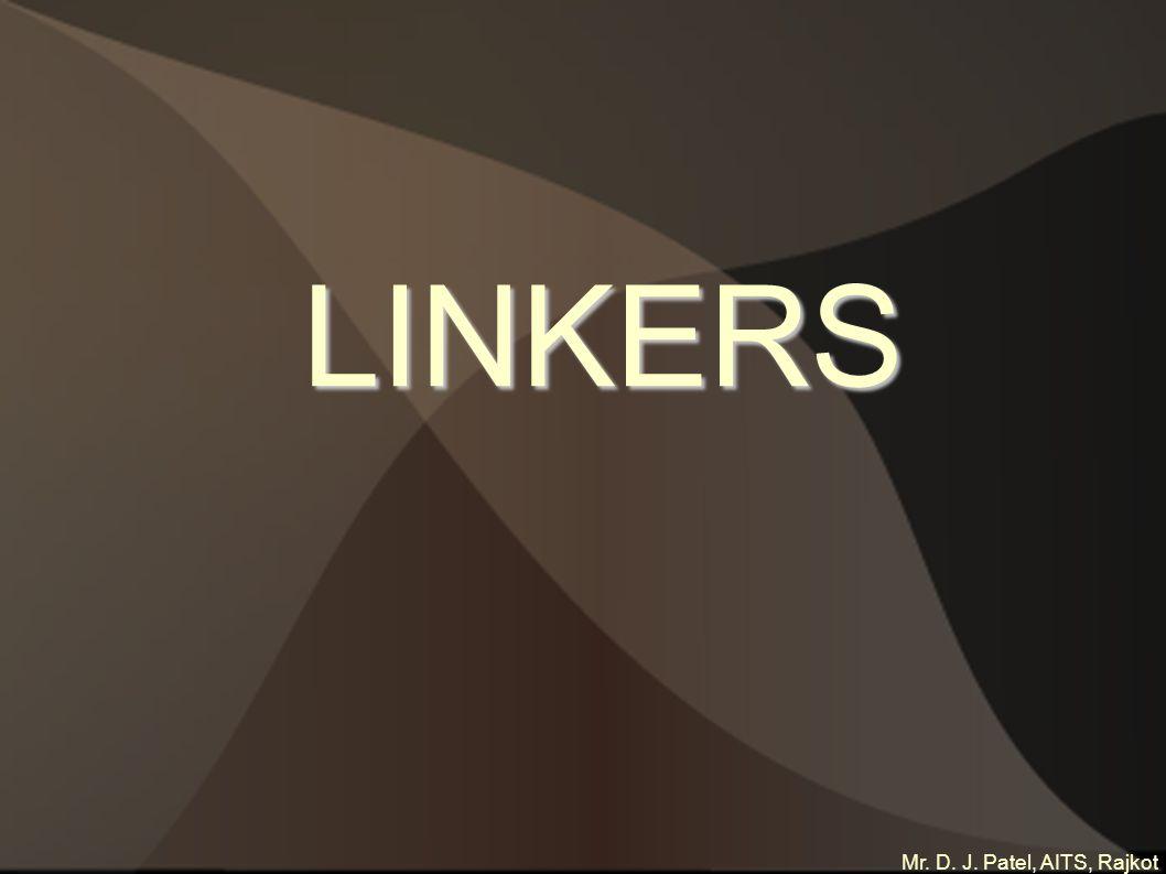 Mr. D. J. Patel, AITS, Rajkot LINKERS