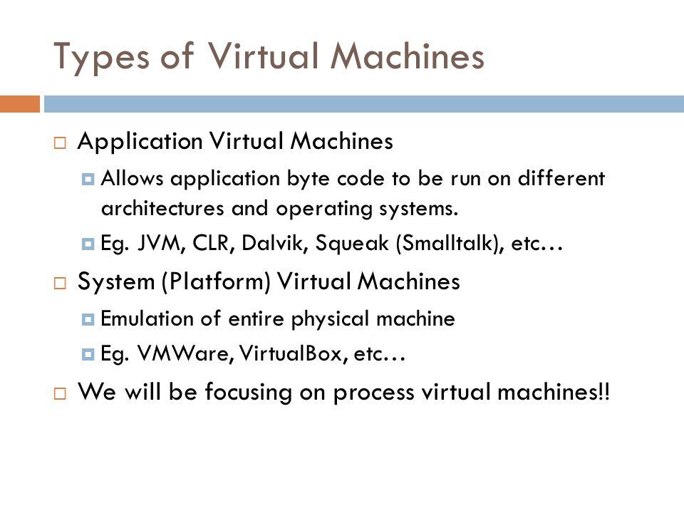 Example -- JVM