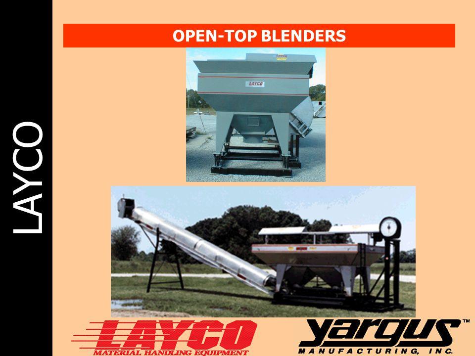 LAYCO OPEN-TOP BLENDERS