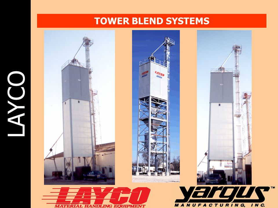 LAYCO TOWER BLEND SYSTEMS