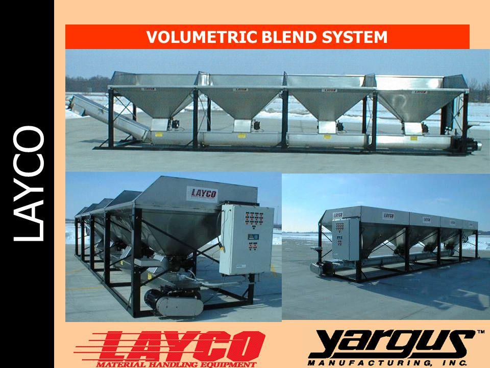 LAYCO VOLUMETRIC BLEND SYSTEM