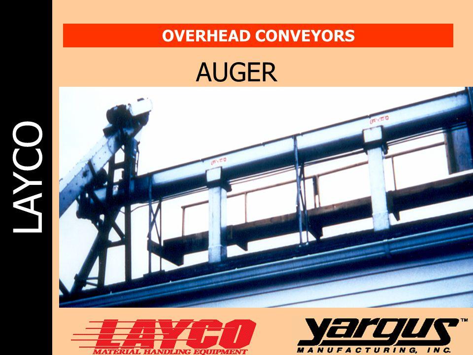 LAYCO OVERHEAD CONVEYORS AUGER