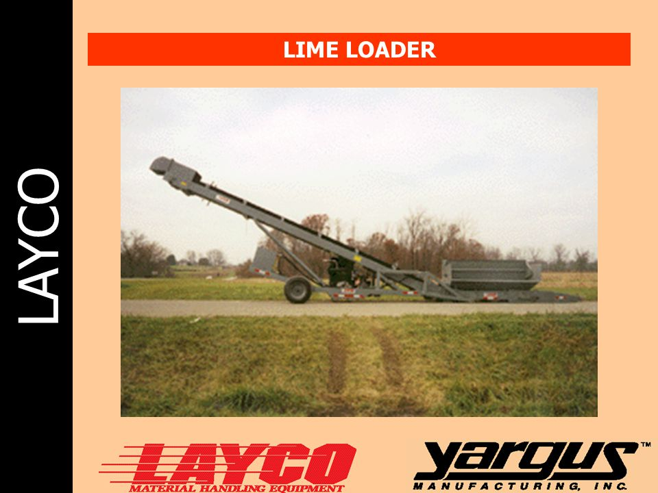LAYCO LIME LOADER