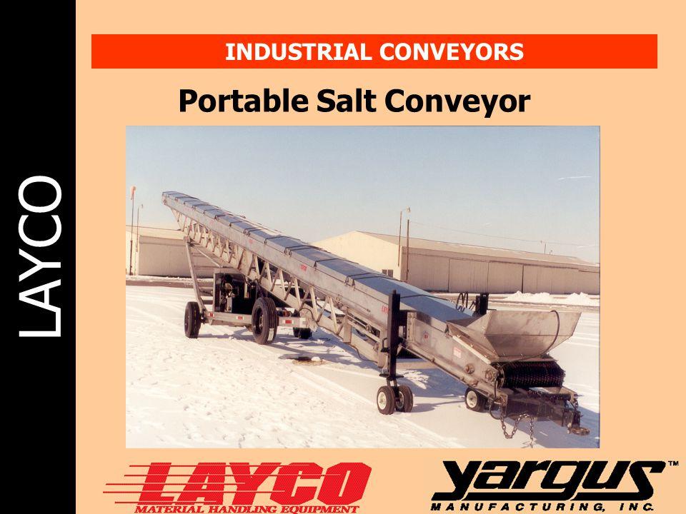 LAYCO INDUSTRIAL CONVEYORS Portable Salt Conveyor
