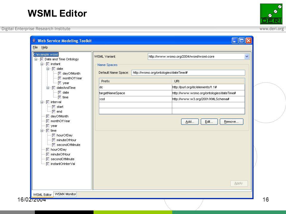 16/02/200416 WSML Editor