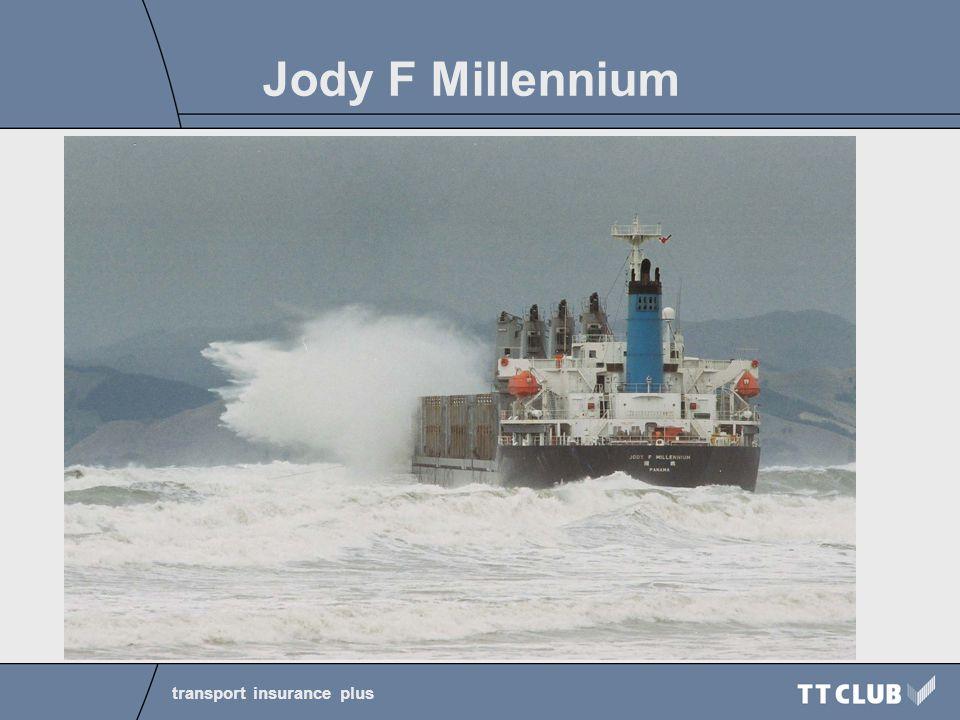 transport insurance plus Jody F Millennium