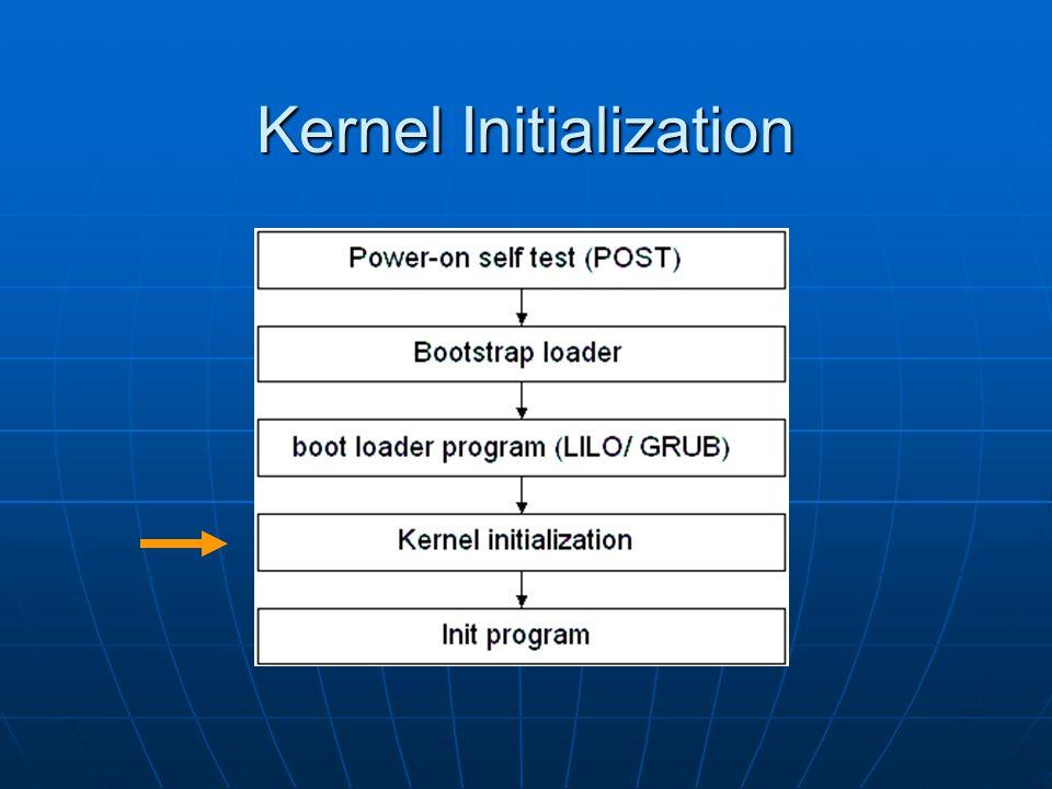 Kernel Initialization