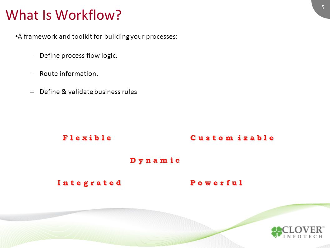 5 What Is Workflow.