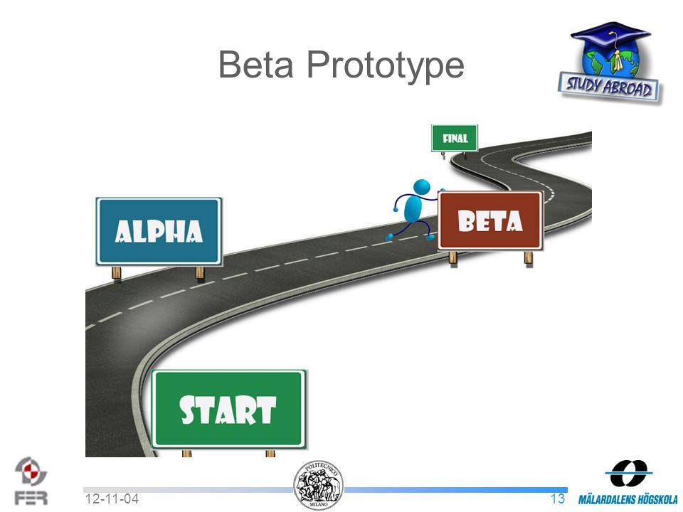 1312-11-04 Beta Prototype