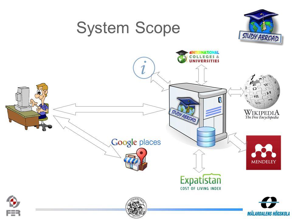 System Scope