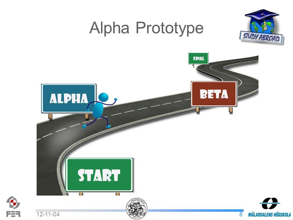 812-11-04 Alpha Prototype