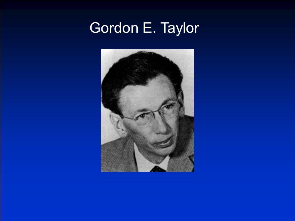 Gordon E. Taylor