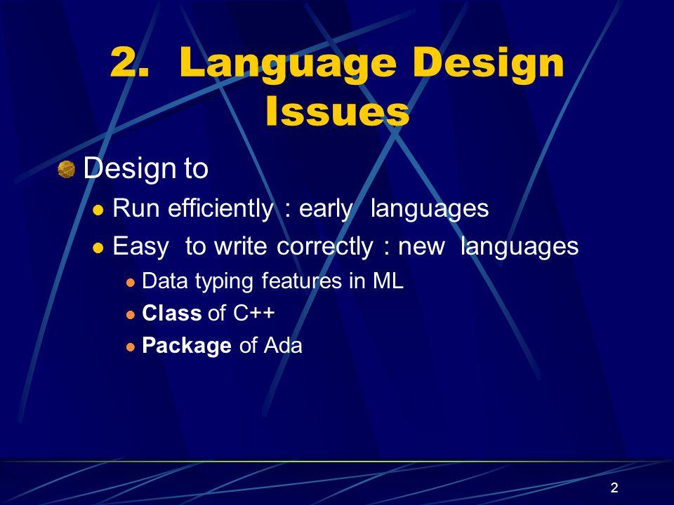 Programming Languages Marjan Sirjani