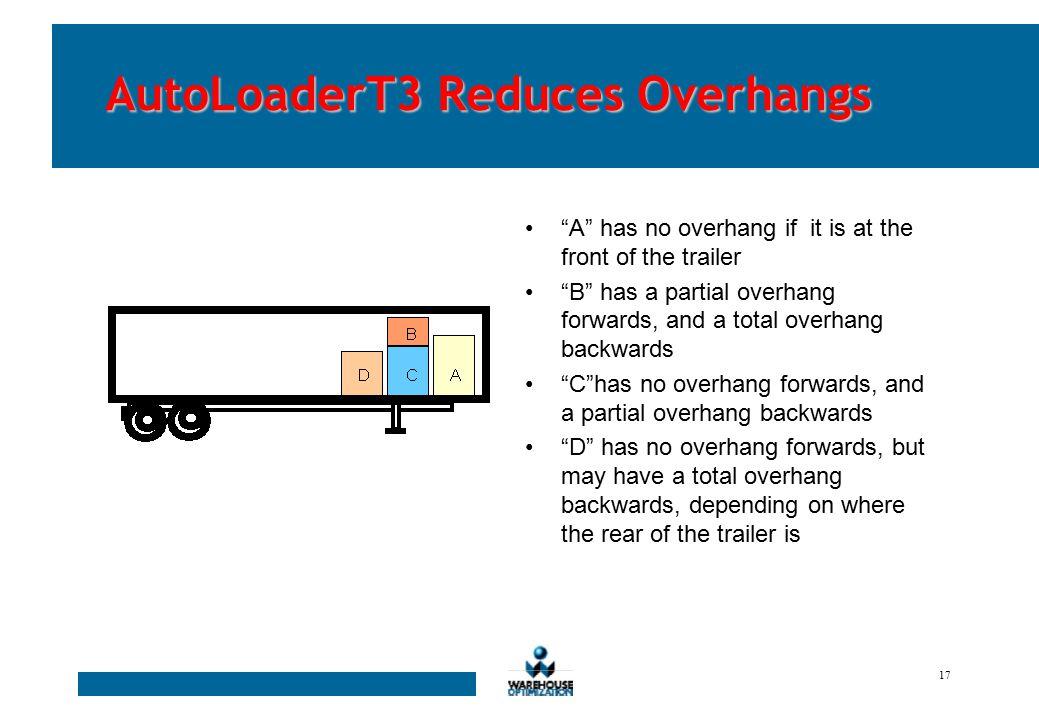 16 AutoLoaderT3 Minimizes Damage Attempts to use forward locking to minimize transit damage