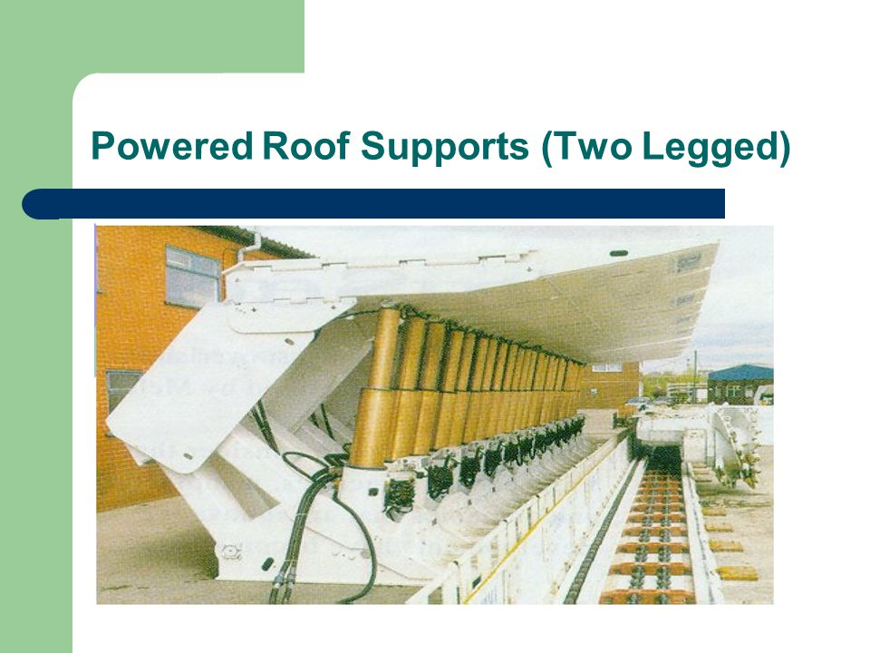 Powered Roof Supports (Two Legged)