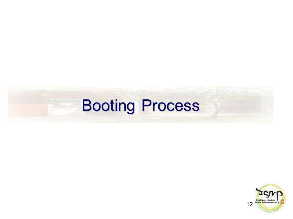 12 Booting Process