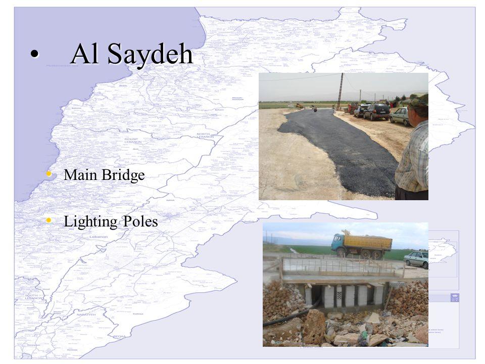 Al SaydehAl Saydeh Main Bridge Main Bridge Lighting Poles Lighting Poles