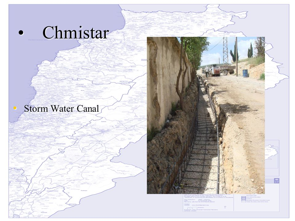 ChmistarChmistar Storm Water Canal Storm Water Canal