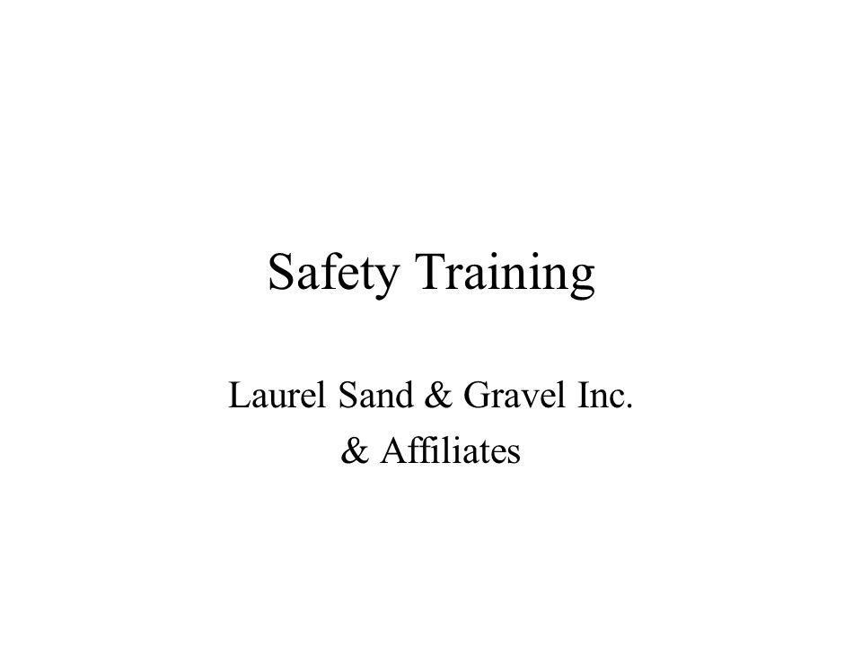 Savage Stone LLC Safety Training Program and Employee Orientation Agenda Day 1: Review the Company Safety Policy Classroom Orientation Review Videos Process Employment Forms Receive Company Safety Policy, General Company Policy, and Employee valuation Policy.
