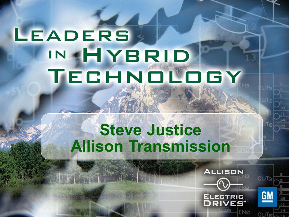 Steve Justice Allison Transmission