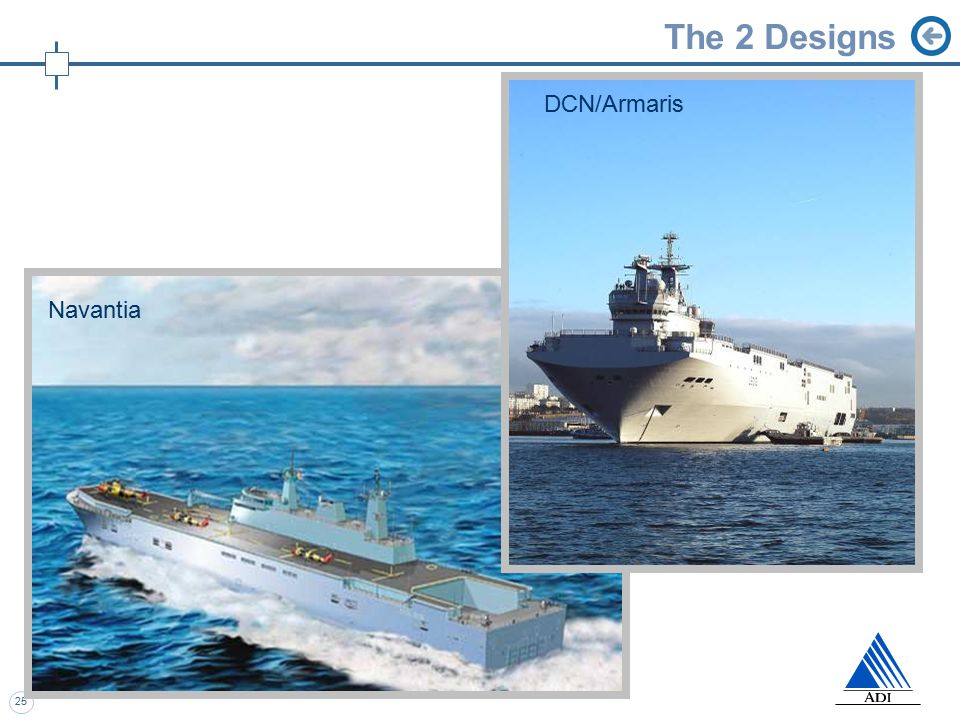 25 The 2 Designs Navantia DCN/Armaris